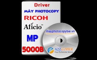Tải driver máy Photocopy Ricoh Aficio MP 5000B
