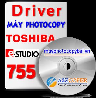 Tải Driver máy Photocopy Toshiba e-Studio 755