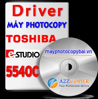 Tải Driver máy Photocopy Toshiba e-Studio 5540C