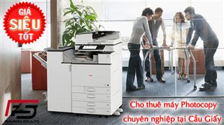 Dịch vụ cho thuê máy photocopy màu tại Cầu Giấy - Uy tín, chuyên nghiệp, giá rẻ