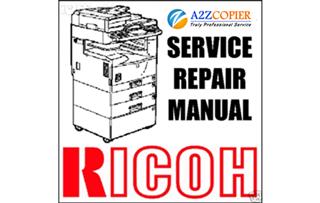 Giáo trình sửa chữa, tài liệu tiếng Việt Ricoh Aficio 1060/1075/2051/2060/2075