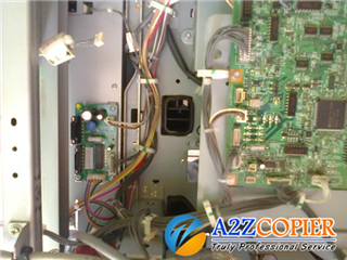 Khắc phục lỗi SC 121, SC 122, SC 123, SC 124 máy Photocopy Ricoh Aficio 1060/1075/2051/2060/2075