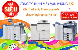 Cho thuê máy Photocopy màu tại Hà Nội - Dịch vụ chuyên nghiệp, Giá cả cạnh tranh, Uy tín hàng đầu!