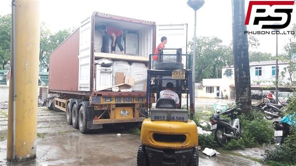 [UPDATE] Dỡ container hàng mới về kho ngày 07/09/2017