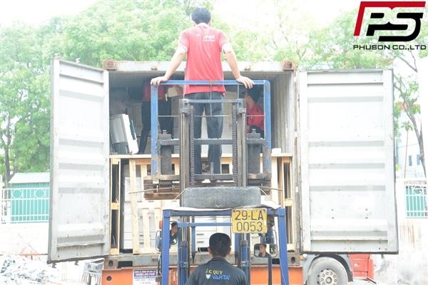 [UPDATE] Dỡ container hàng mới về kho ngày 09/07/2017