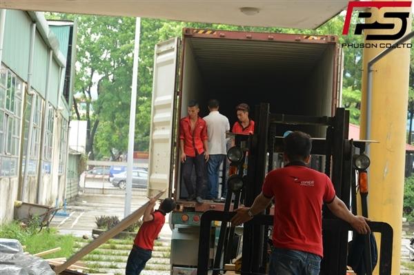 [UPDATE] Dỡ container hàng mới về kho ngày 06/08/2017