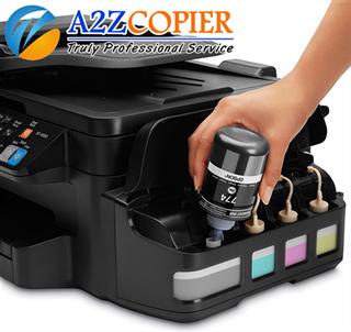 Đổ mực - Thay thế linh kiện máy in
