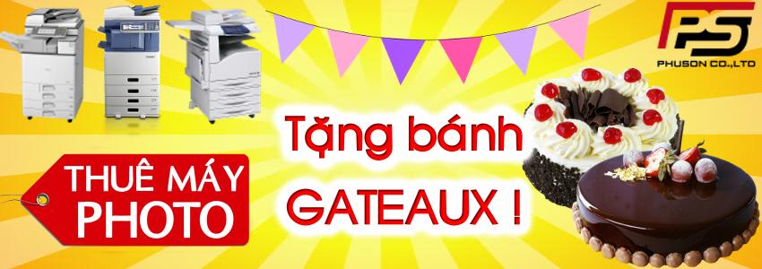 Thuê máy Photo - Tặng bánh Gateaux !